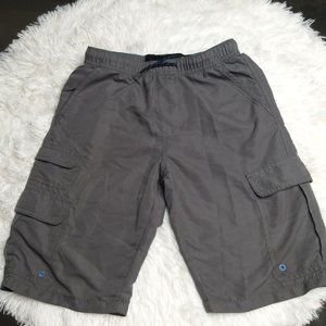 Plugg Grey Cargo Shorts size M (10-12)